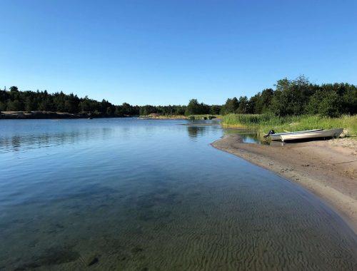 Kaunista Ahvenanmaan saaristoa Vårdö