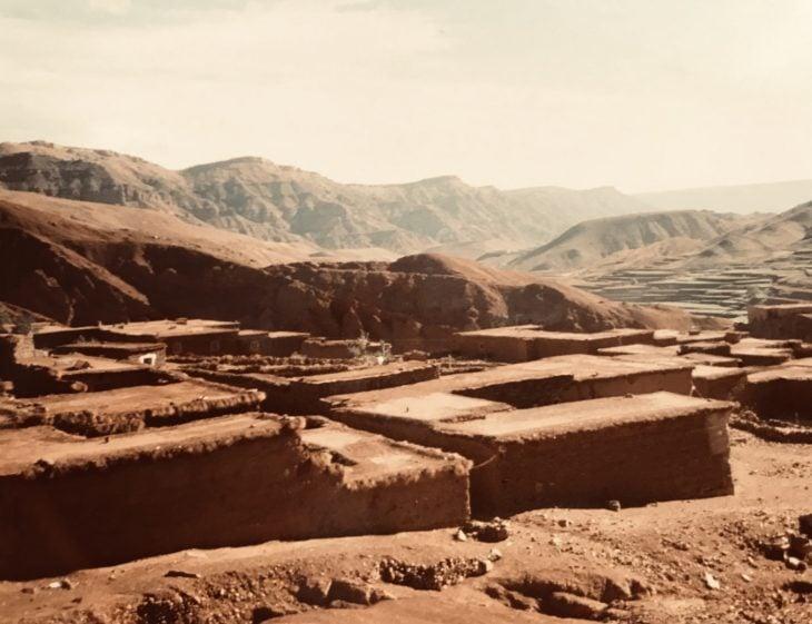 Marokko Atlas-vuoristo matkalla Ourzazateen