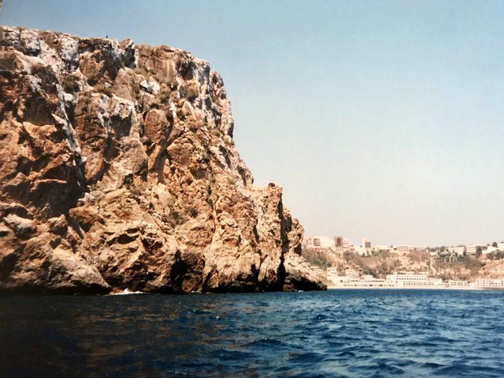 Marokossa Välimeren rannalla Al Hoceima