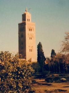 Koutoubia moskeija Marrakech, nähtävää Marokossa