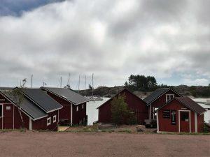 Ahvenamaa, Kaunis saaristokunta Lappö satama ja puodit