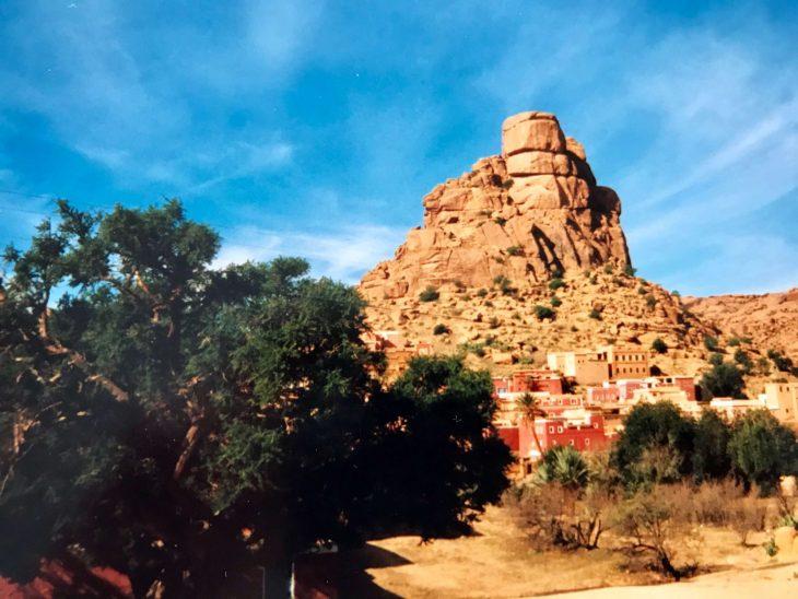 Marokko nähtävää: vuoristokylä Tafraoute