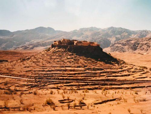Marokon vuoristossa matkalla Agadirista Tafraouteen