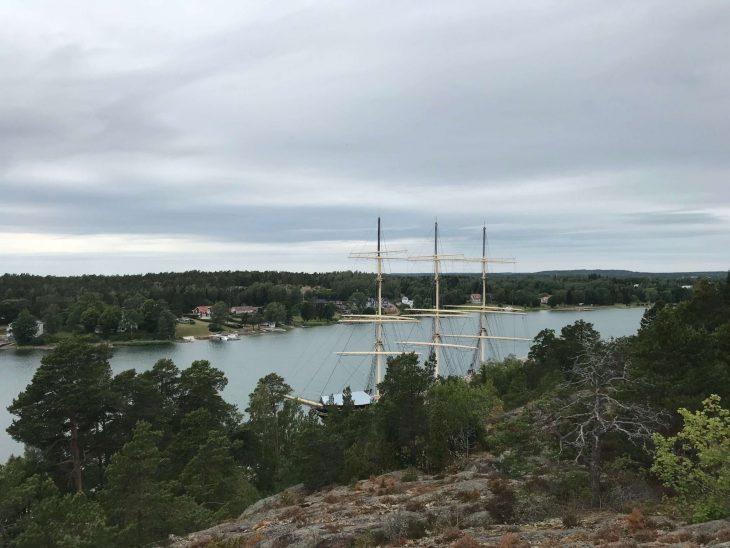 Maarianhamina nähtävyydet, museolaiva Pommern, Ahvenanmaa saaristokierroksella, nähtävää saaristossa, matkailu