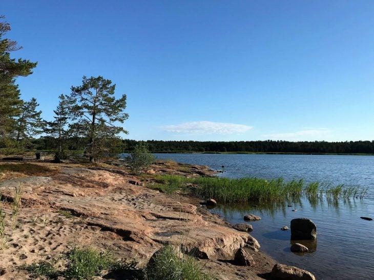 Vårdö, kaunis saaristokunta Ahvenanmaalla, Sandösund, Ahvenanmaa saaristokierroksella, nähtävää saaristossa, matkailu
