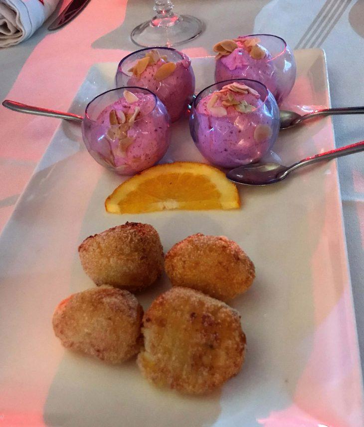 Marokko Agadir, hyvät ravintolat, Alkupalat, Little Norway ravintola