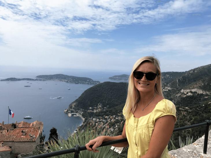 Ranska Riviera Cote d'Azur Eze kasvitieteellinen puutarha