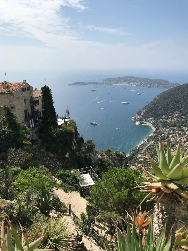 Ranskan Riviera, Eze kylä, tunnelmia, näkymiä, kokemuksia, Nizza, Antibes