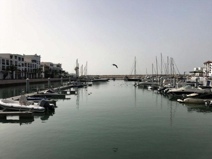 Agadir nähtävää, huvivenesatama Marina, veneretkiä, liikkeitä ja hyviä ravintoloita