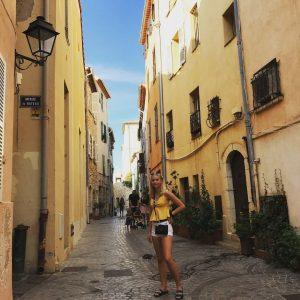 Ranska Antibes vanha kaupunki kokemuksia