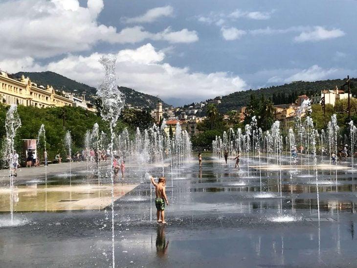 Ranska Riviera Cote d'Azur Nizza nähtävää Place Masséna
