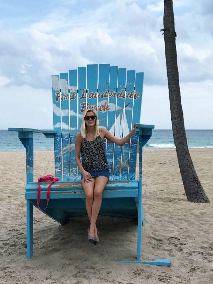 Arja rannalla Fort Lauderdale Beach, Florida