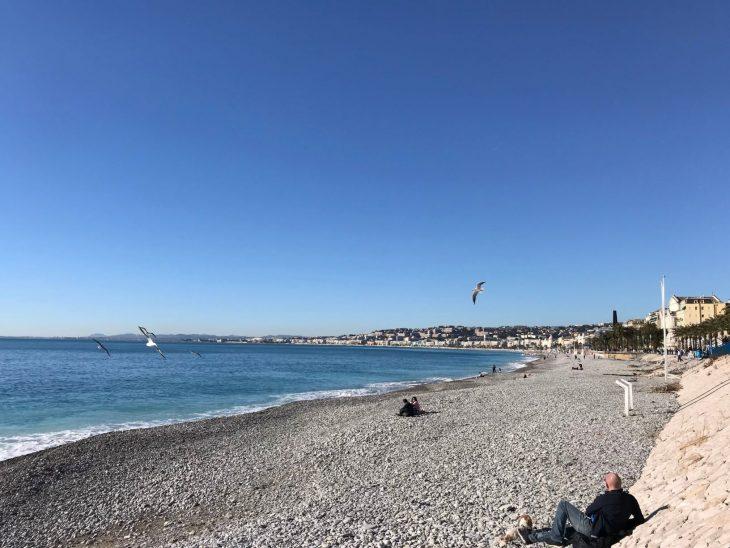 France, spring in Nice, French Riviera, Ranskan Riviera kevät Nizzassa