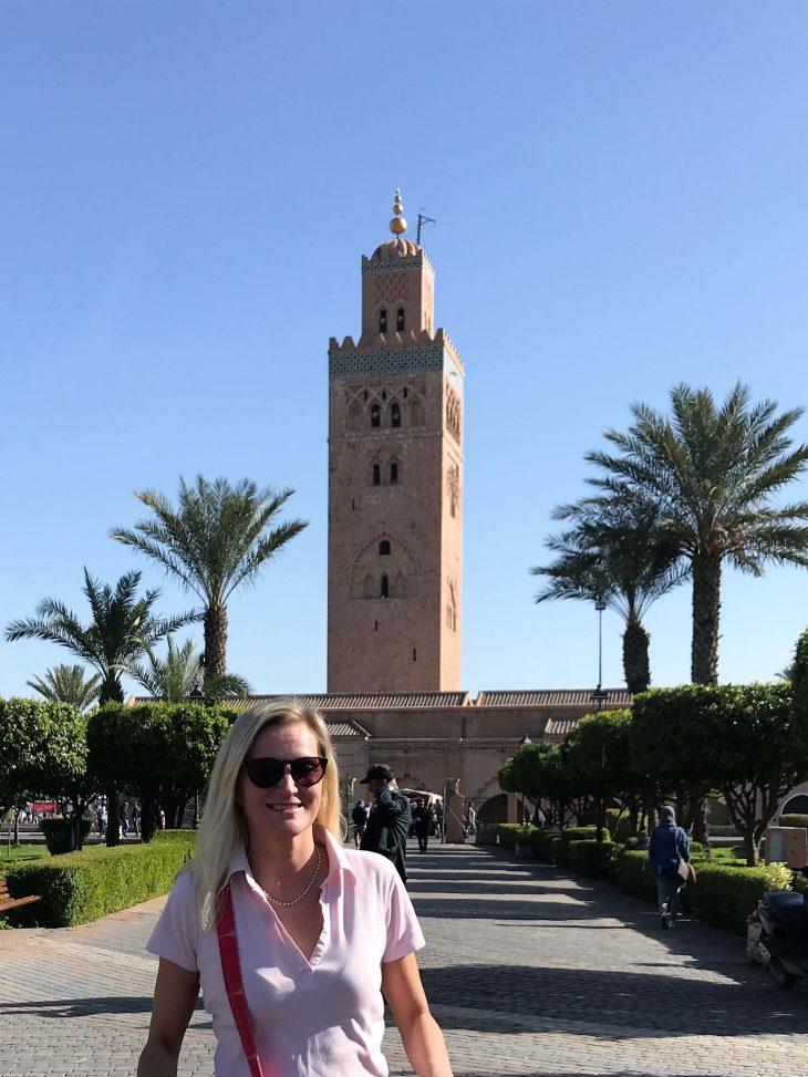 Koutoubia-moskeija, Marrakech medina nähtävää, Marokko, kokemukia vanha kaupunki