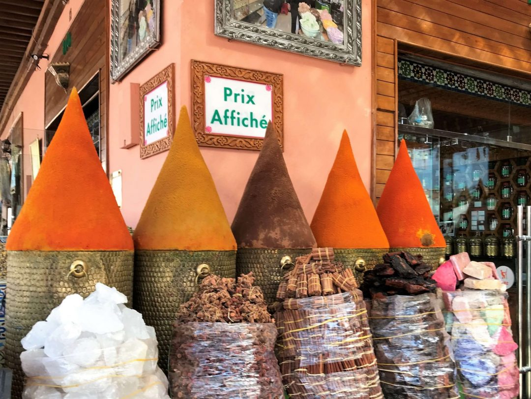 Marrakech medina nahtavaa