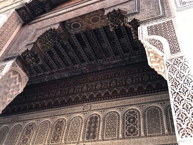 Marokko Marrakech nahtavaa Medina Bahia palatsi, kokemukia vanha kaupunki