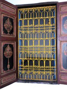 Marokko Marrakech nahtavaa Medina Bahia palatsi