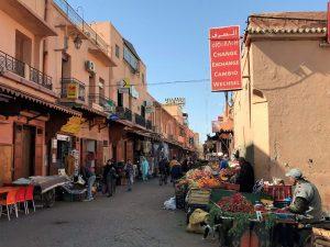Marokko Marrakech nahtavaa medina