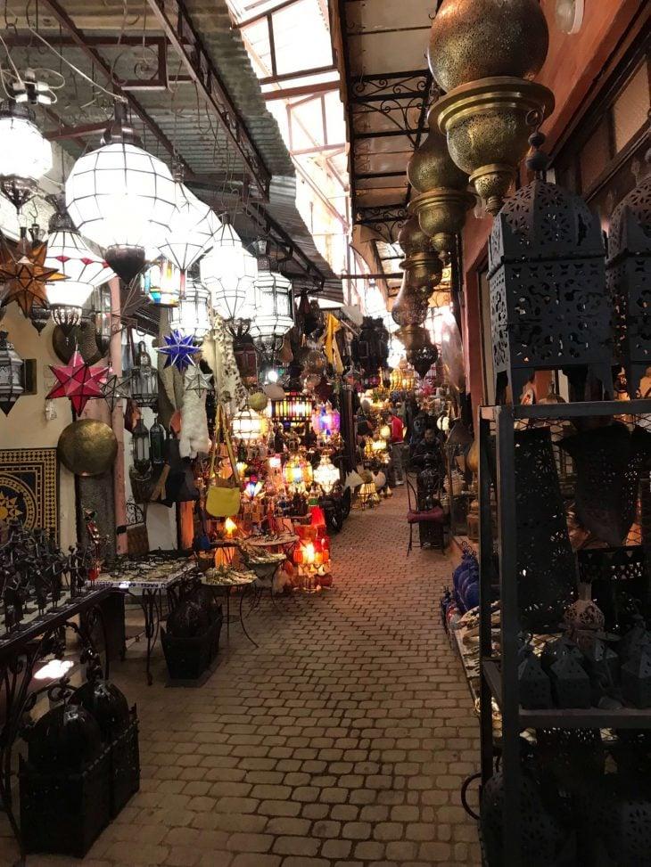 Marokko Marrakech medina nahtavaa souk, kokemukia vanha kaupunki