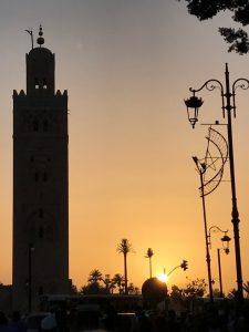 Koutoubia moskeija Marrakech medina