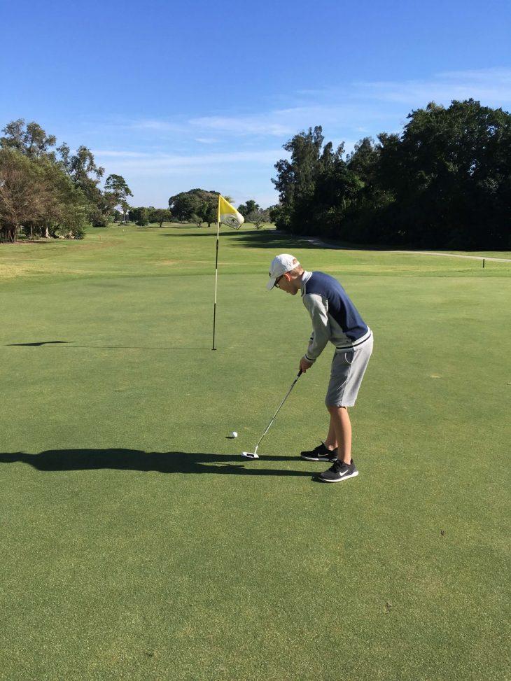 Tehtävä, harrastuksia, golfia Pompano Beachillä Floridassa