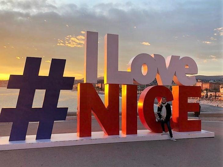 French Riviera, I love Nice, beach, Ranskan Riviera, Nizza rantaa