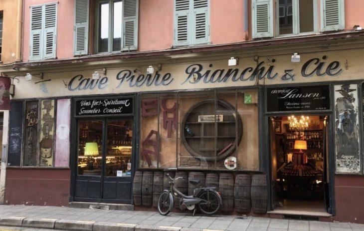 French Riviera, Nice old town, Ranskan Riviera, Nizza vanha kaupunki nahtavaa