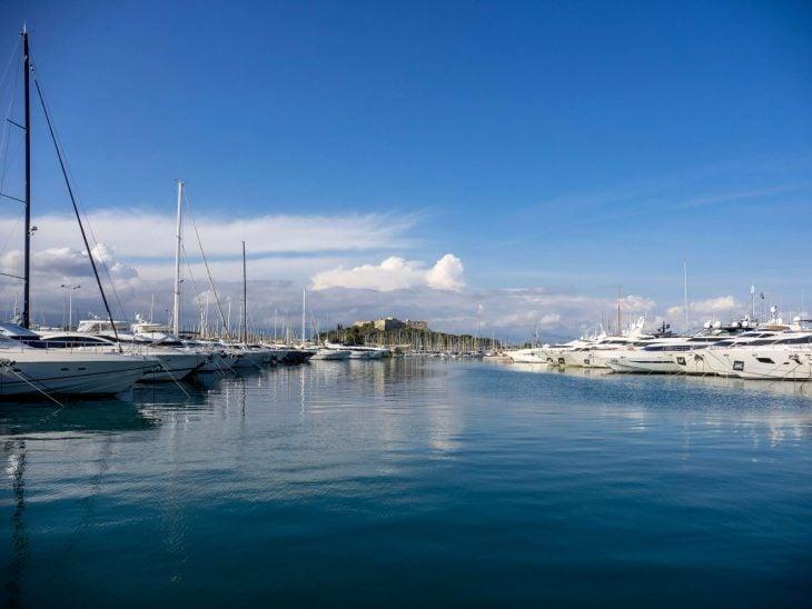 Ranskan Riviera nähtävää, Antibes satamaa