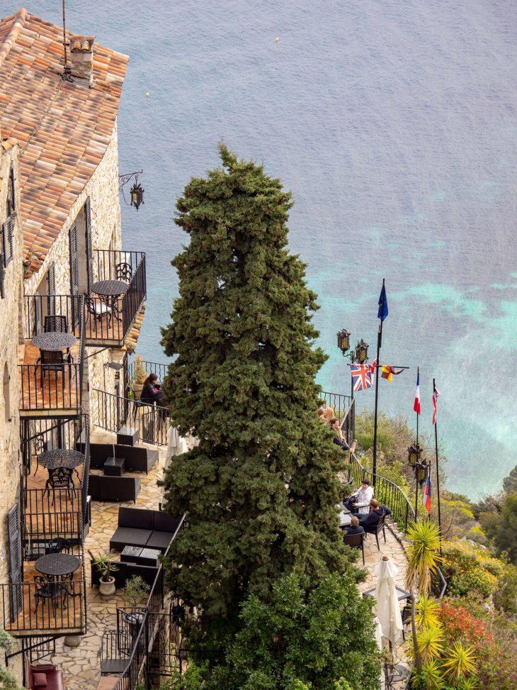 Ranskan Riviera nähtävää, Chateau Eza hotelli, Eze, kokemuksia
