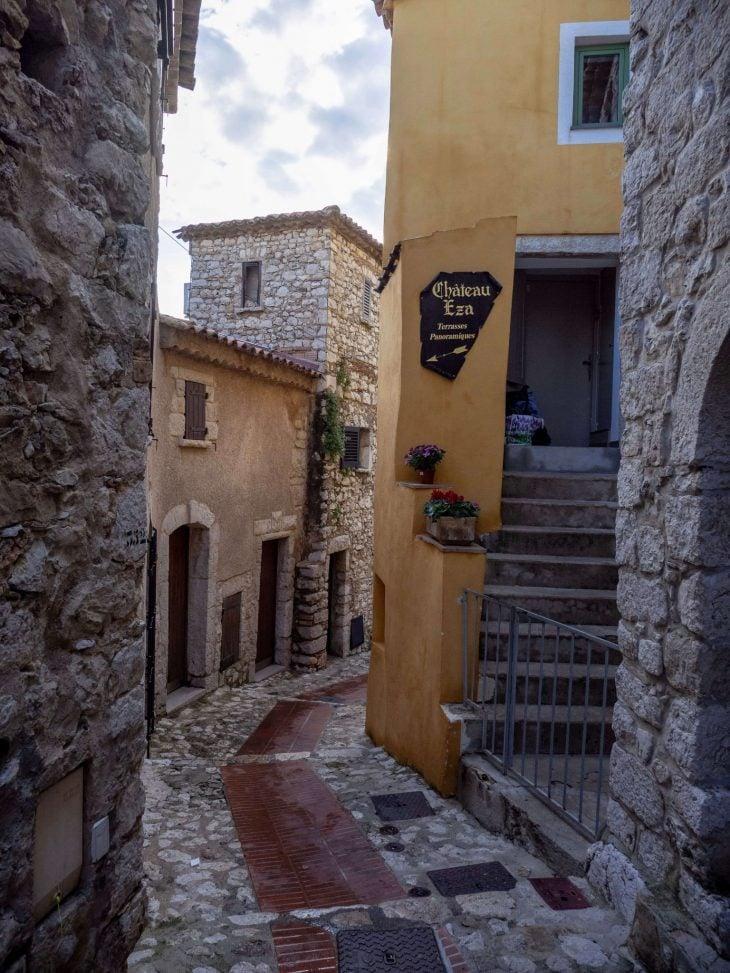 Ranskan Riviera nähtävää, Chateau Eza hotelli, Eze
