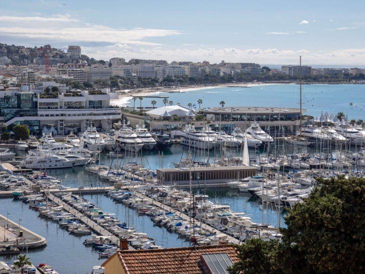 Ranskan Riviera nähtävää, Cannes linnakukkulalta satamaan, kokemuksia
