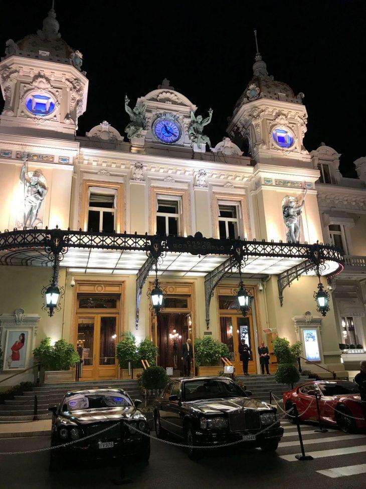 Ranskan Riviera nahtavaa, Monaco Monte Carlon kasino, kokemuksia