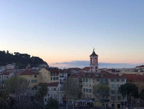 Ranska Riviera nähtävää Nizzan vanha kaupunki
