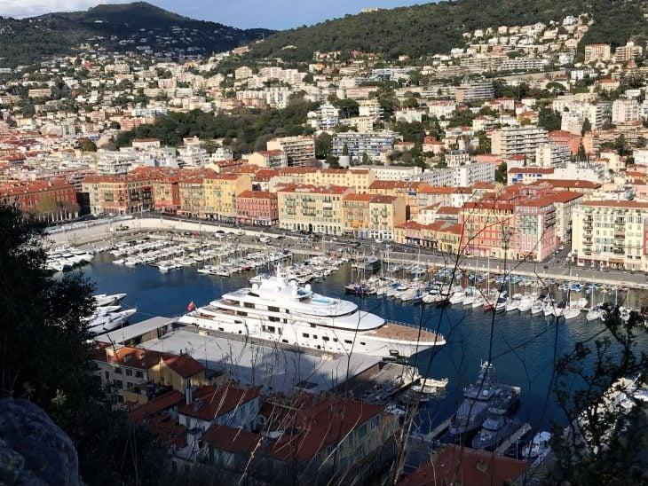 Ranskan Riviera nähtävää, Nizza linnakukkulalta satamaan, kokemuksia vanhat kaupungit