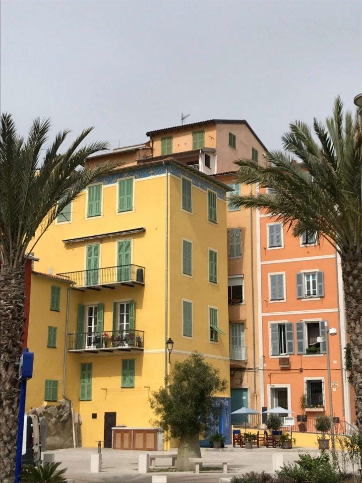 Ranskan Riviera nähtävää, Menton lähes Italian rajalla, kokemuksia