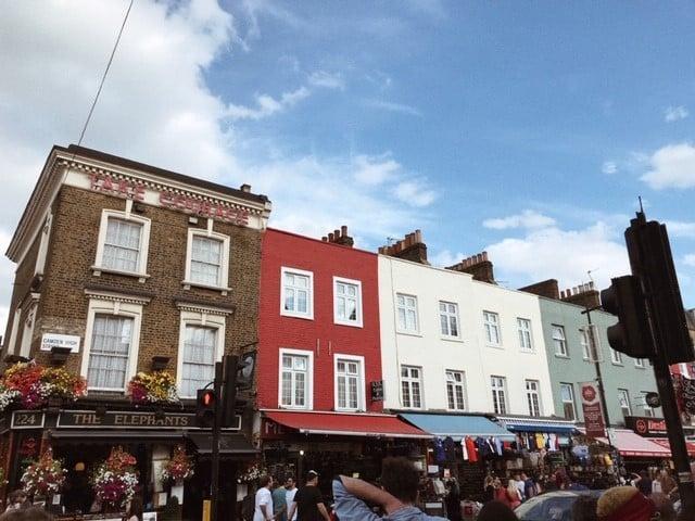 Lontoo nähtävyyksiä ja kokemuksia - Camden town