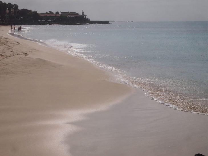 Kap Verde rantaa Santa Maria