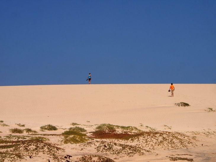 Kap Verde, Santa Maria hiekkadyynit