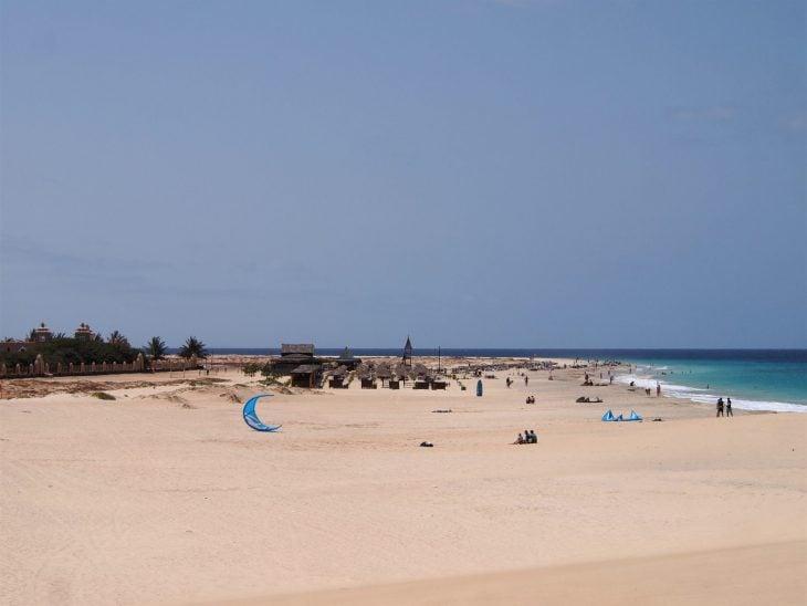 Kap Verde, Santa Maria rantaa