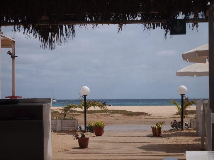 Kap Verde rantaa Santa Maria Oasis Salinas Sea hotelli