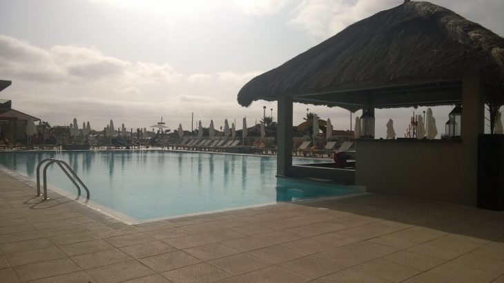 Kap Verde, Santa Maria. Oasis Salinas Sea hotelli