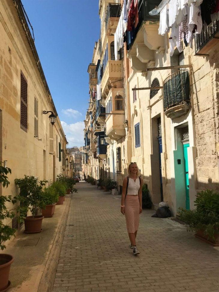 Malta kokemuksia, sää: Valletta vanha kaupunki kapeat kujat