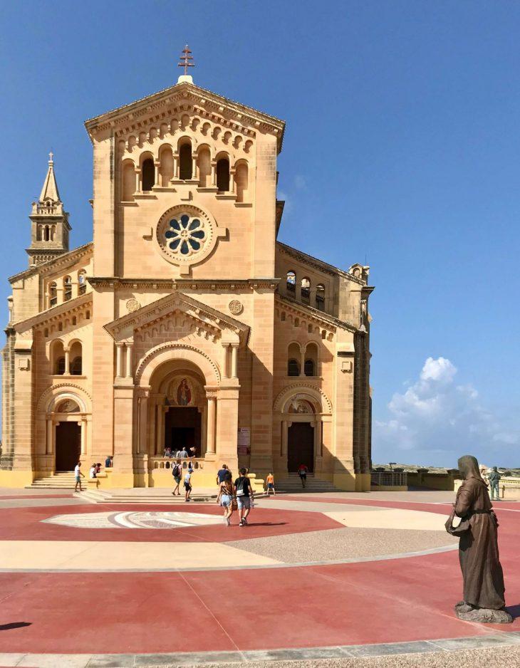 Ta' Pinu sanctuary pyhäkkö, Gozo