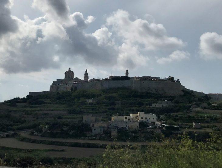Malta kokemuksia, sää: Mdina vanha kaupunki