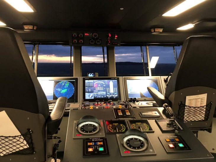 Tallink Megastar komentosillalla
