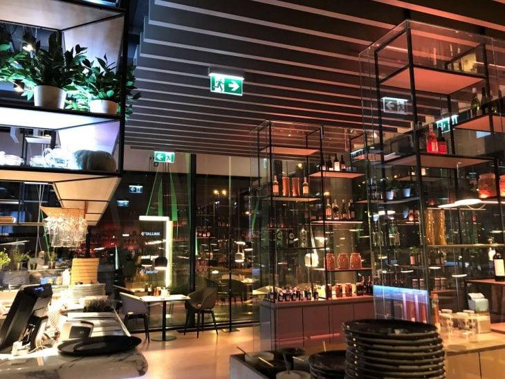 Tallink ravintola Flavore Tallinnassa, ravintolasuositus Tallinnaan