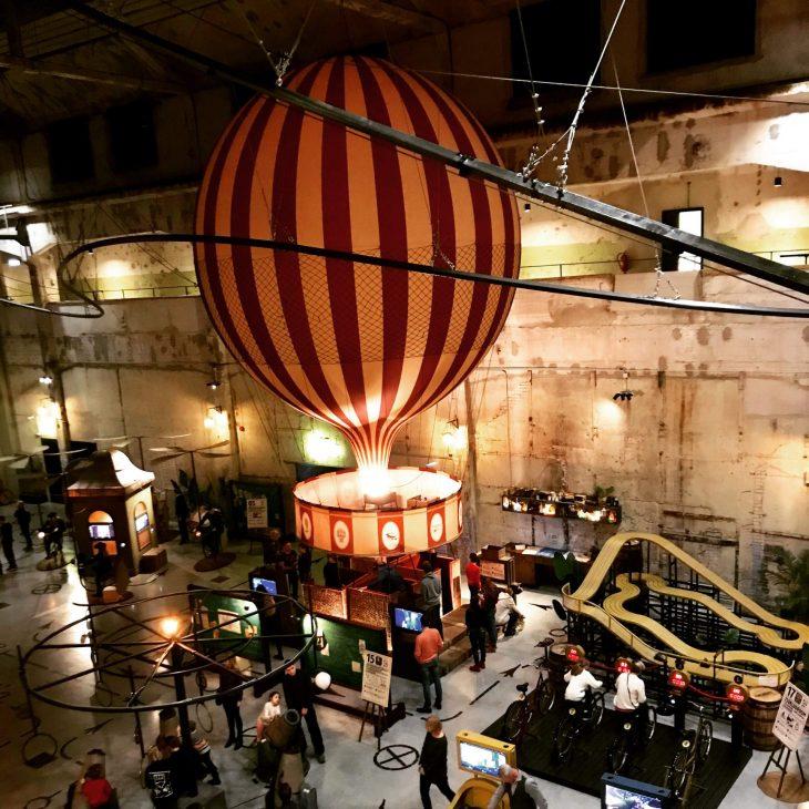Tallinna, Keksintötehdas Proto, kuumailmapallo, tekemistä teinien kanssa