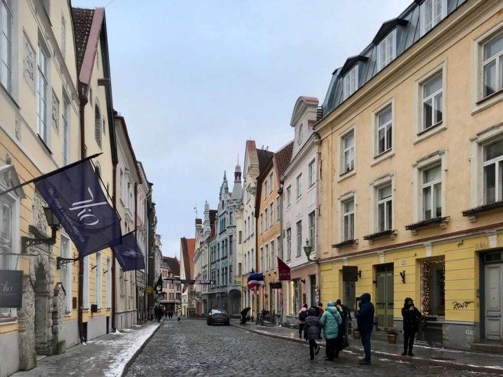 Tallinna vanha kaupunki, tekemistä teinien kanssa