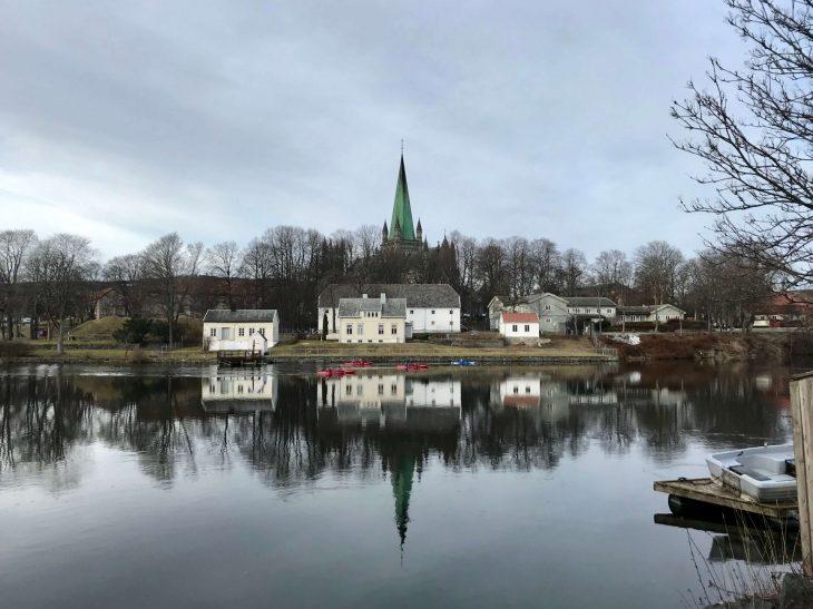 Åresta Trondheim Norja, sää helmikuu, nähtävää, Nidaros kirkko, blogi