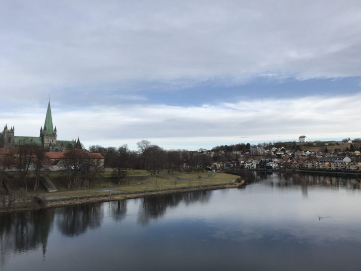 Åresta Trondheim Norja, sää helmikuu, nähtävää, kirkko, blogi